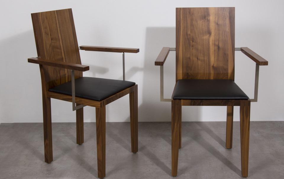 stuhl nino mit lehne. Black Bedroom Furniture Sets. Home Design Ideas